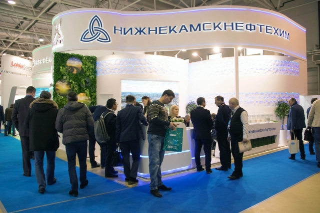 ПАО «Нижнекамскнефтехим» приняло участие в выставке «Интерпластика-2018»