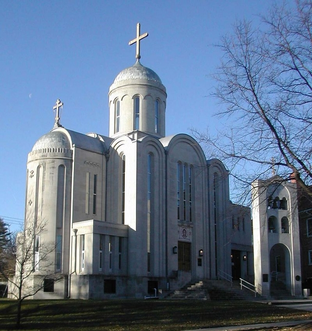 Свято-Николаевский собор в Вашингтоне