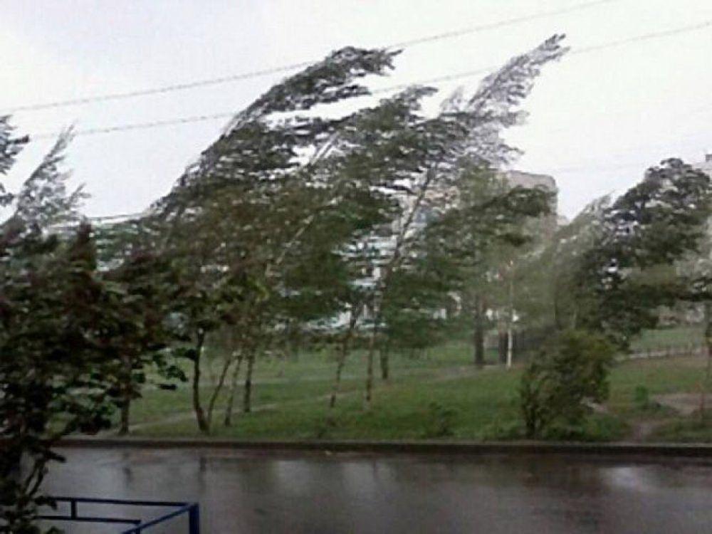 Шквалистый ветер в Чебоксарах