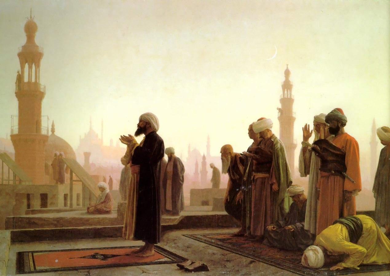 Жан-Леон Жером. Молитва в Каире. 1865