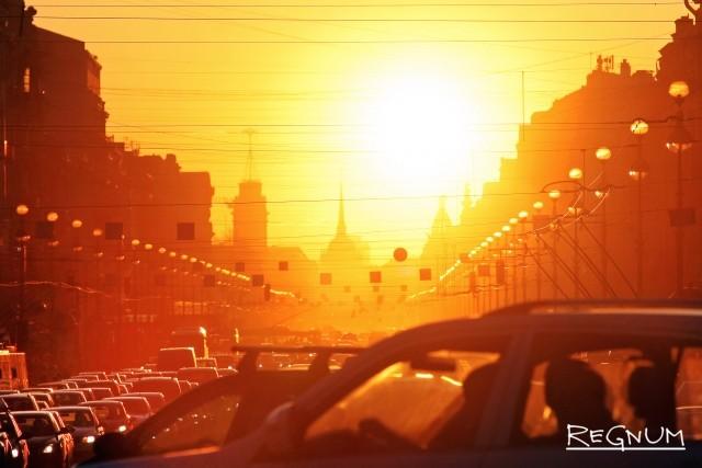 Жаркий май в Петербурге стал рекордным за сто лет