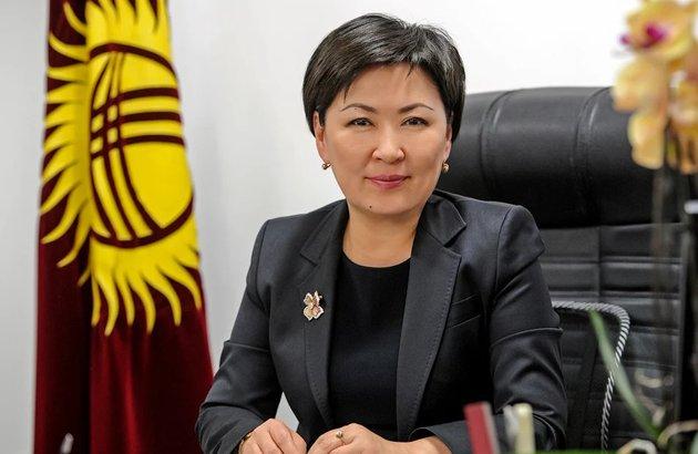 Гульмира Кудайбердиева