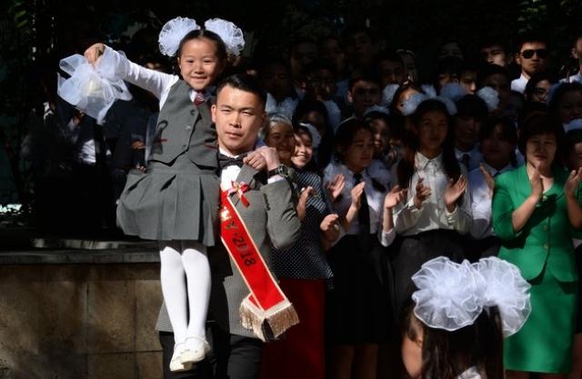 Школа. Киргизия