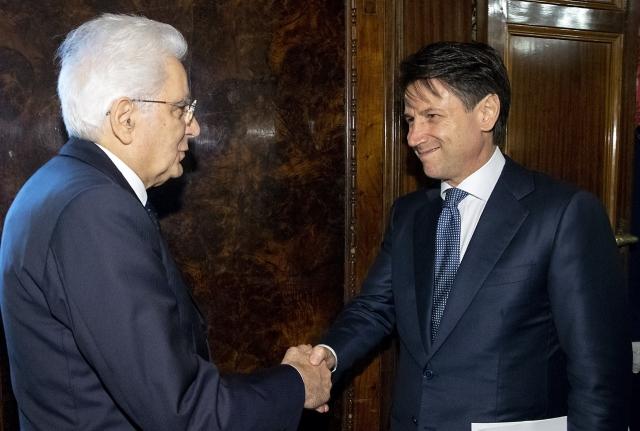Президент Италии утвердил состав правительства во главе с Джузеппе Конте