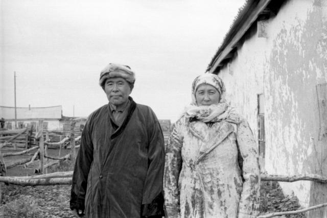 Жители аула Каскат, Омская область, 1976 год. Из архива Музея археологии и этнографии ОмГУ