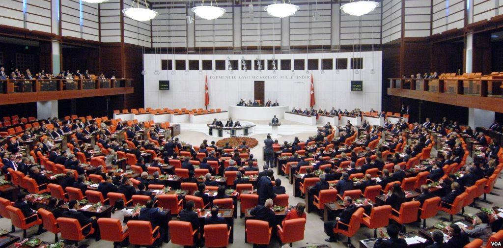 Здание Великого национального собрания Турции