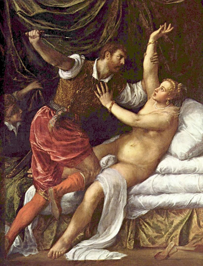 Лукас Кранах. Лукреция. 1533