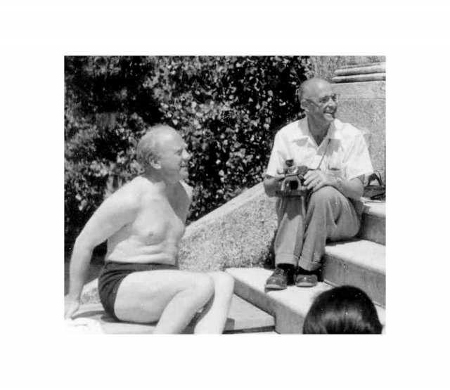 Вернер Гейзенберг и Энрико Ферми после Второй мировой войны — будто и не бывало