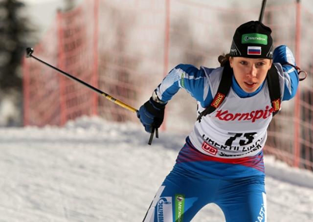 Удмуртская биатлонистка Кайшева вошла в состав сборной России