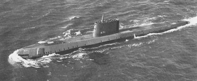 Первая в мире атомная подводная лодка USS Nautilus (SSN-571)