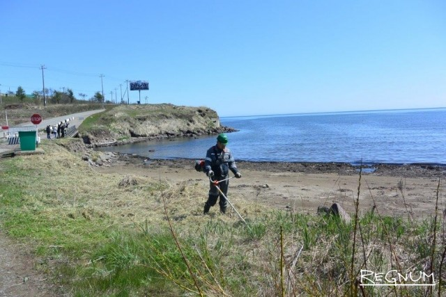 Морской субботник в СПВ Ванино