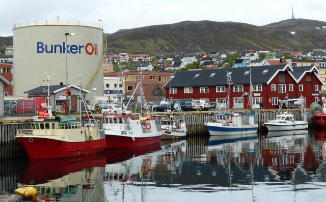 Нефтехранилище. Норвегия