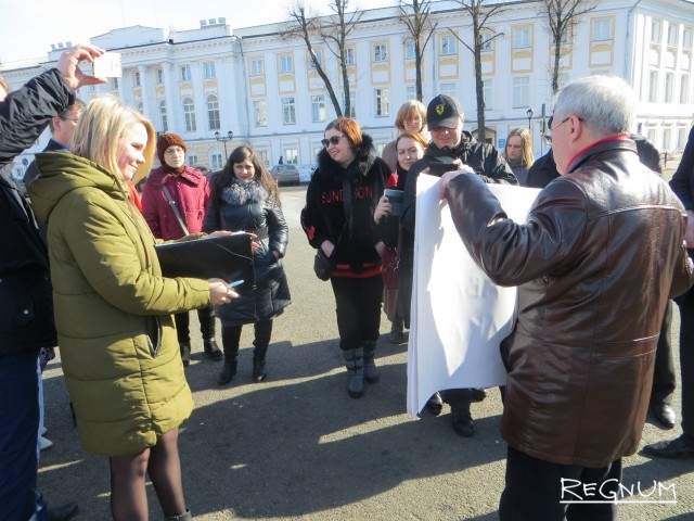Лидера ярославских коммунистов вторично оштрафовали за антимусорный протест