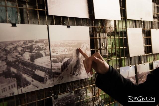 Выставка. Центральная улица города — больше ста лет назад. Поиск сохранившихся зданий на архивных фотографиях
