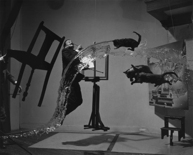 Филипп Халсман. Dali Atomicus. 1948