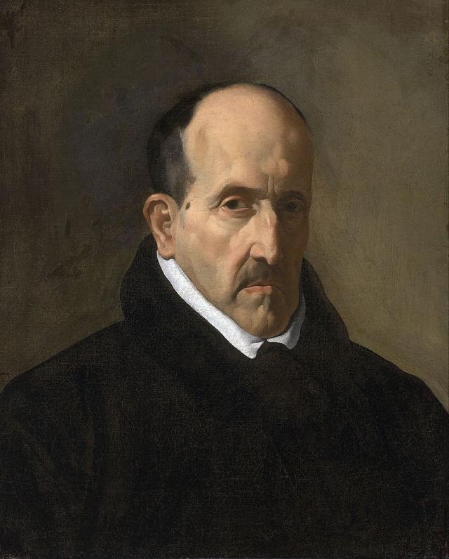 Диего Веласкес. Портрет Луиса де Гонгоры. 1622