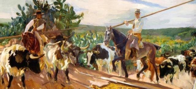 Хоакин Соролья-и-Бастида. Окружение Андалусии. 1914