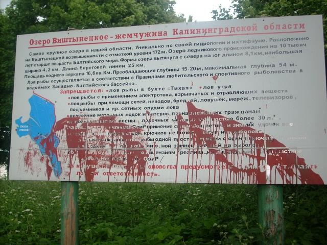 Из-за поломки шлюза обмелело крупнейшее озеро в Калининградской области