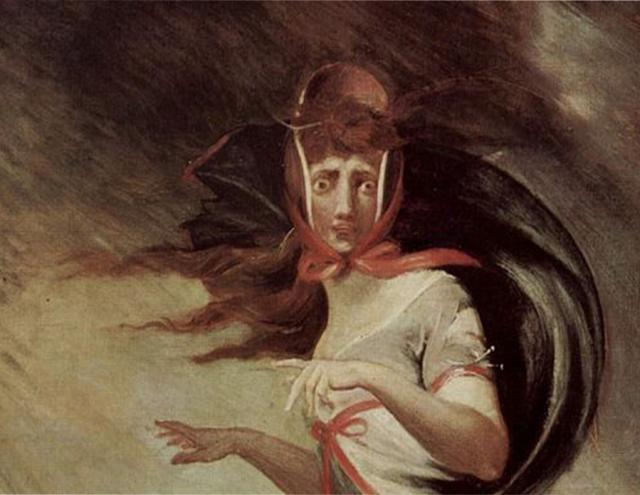 Иоганн Генрих Фюссли. Безумная Кейт. 1806-1807