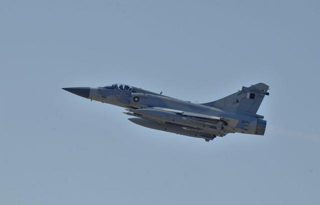Истребитель ВВС Катара французского производства