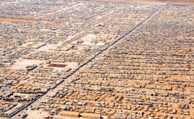 Лагерь беженцев в Иордании