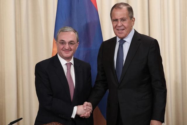 Зограб Мнацаканян и Сергей Лавров