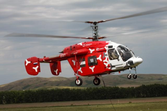 В России запущено производство опытных образцов вертолетов Ка-226Т