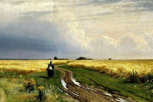 Иван Шишкин. Дорога во ржи. 1866