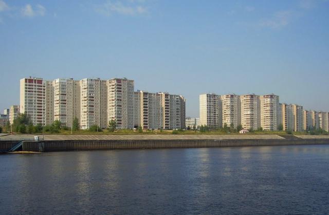 Вид на Казань с Волги