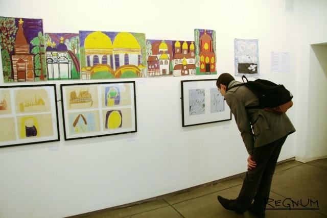 Выставка «Ветхий и Новый» участников «Студии №6» при Городской психиатрической больнице №6