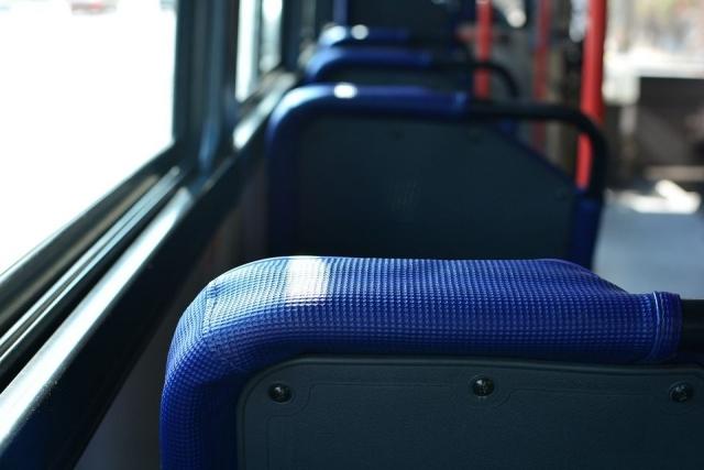 В муниципальном транспорте