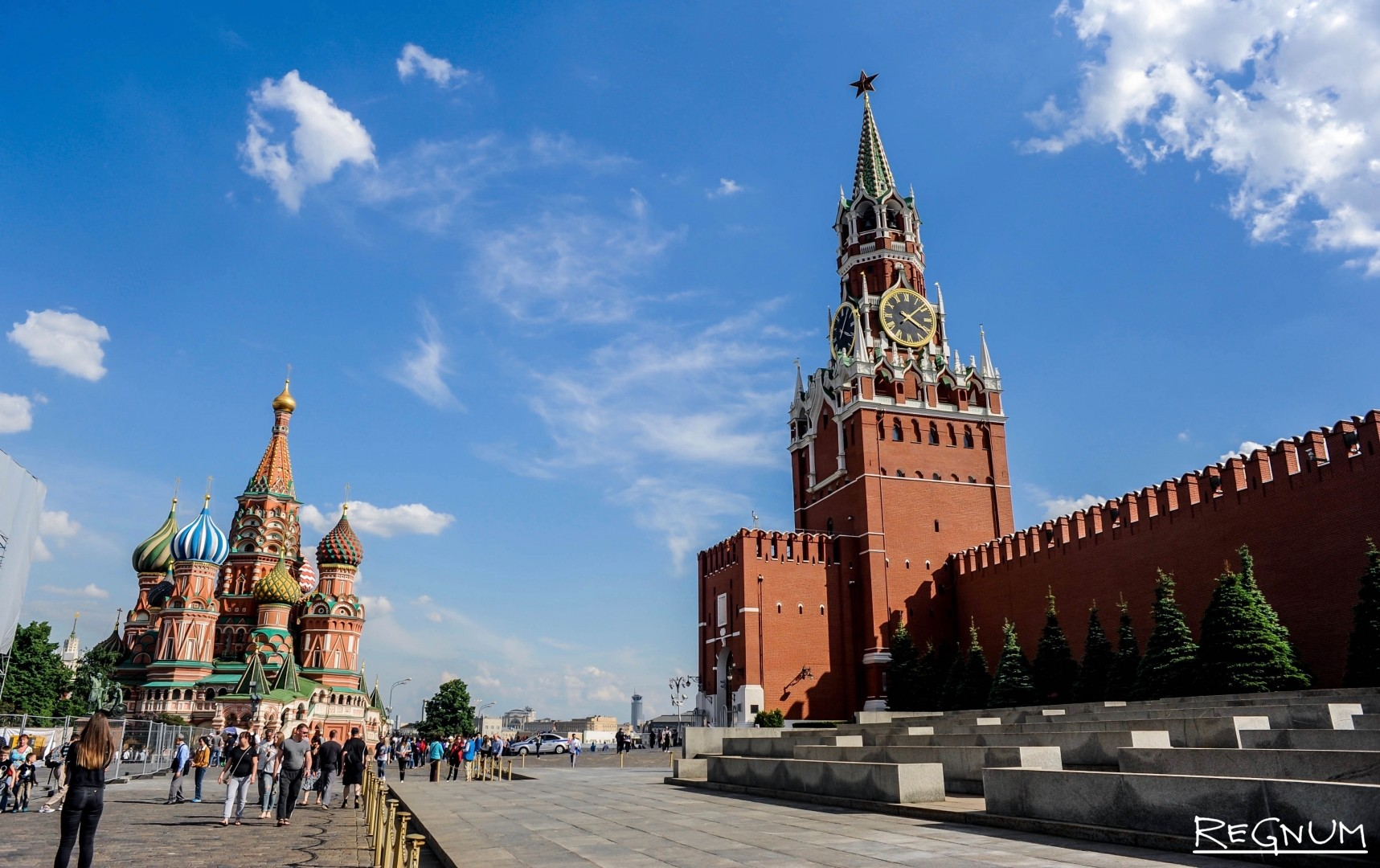 Прогулки по Красной площади