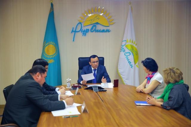 В правящей партии Казахстана сформируют совет по работе с НПО