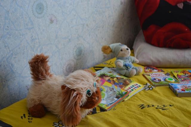 Игрушки и книжки, которые ждут детей