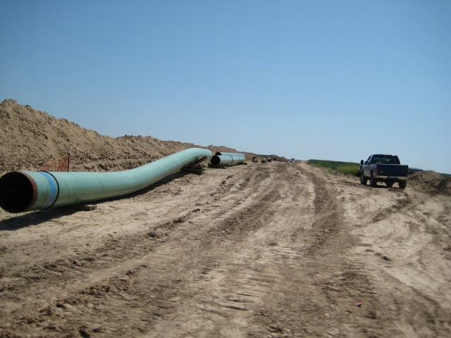 Строительство трубопровода Keystone