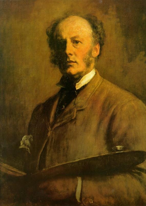 Джон Эверетт Милле. Автопортрет. 1861