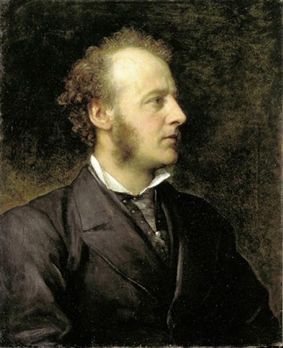Джордж Фредерик Уоттс. Портрет Джона Эверетта Милле. 1871