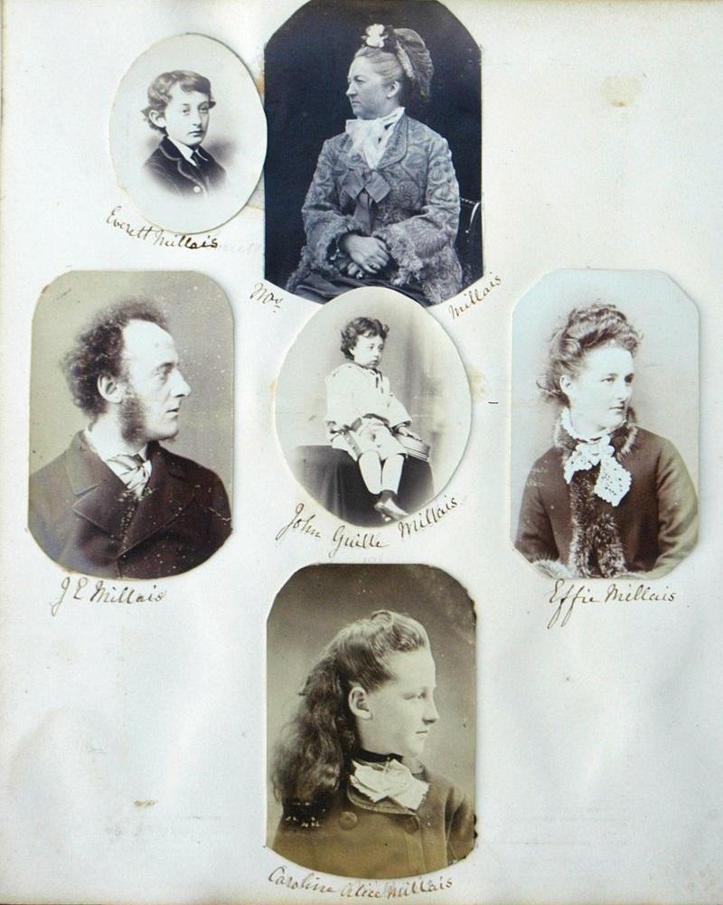 Семья Милле. 1870