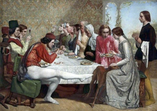 Джон Эверетт Милле. Изабелла. 1849