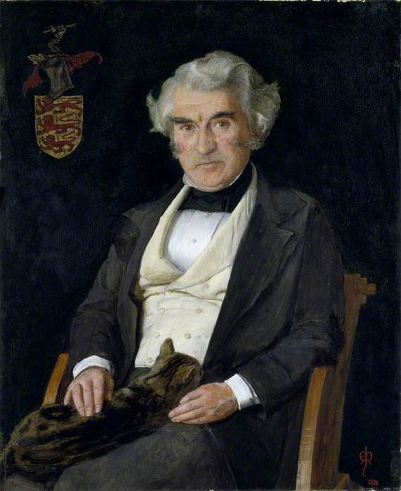Джон Эверетт Милле. Портрет художника Томаса Комба. 1850