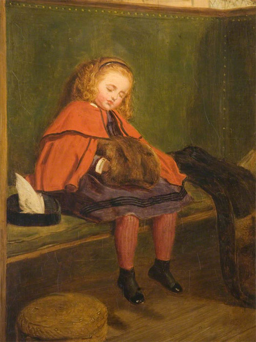 Джон Эверетт Милле. Моя вторая проповедь. 1864
