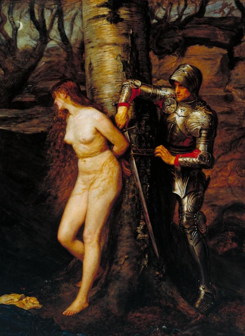 Джон Эверетт Милле. Странствующий рыцарь. 1870