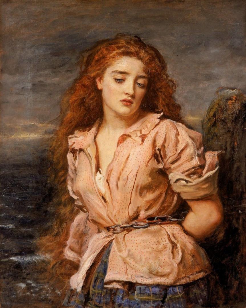 Джон Эверетт Милле. Мученица Солуэй. 1871