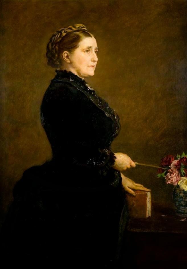 Джон Эверетт Милле. Портрет Изабеллы Элдер. 1886