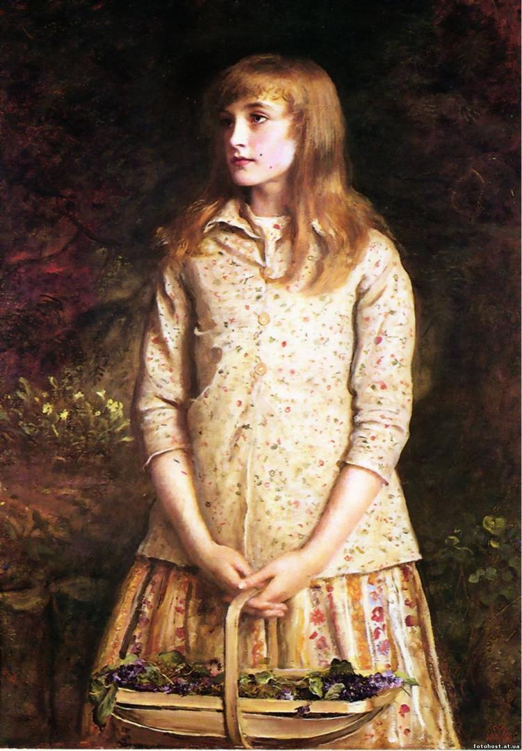 Джон Эверетт Милле. Самые милые глаза, которые кто-либо когда-нибудь видел. 1881