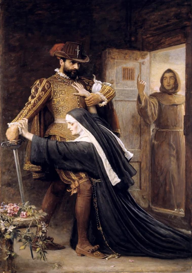 Джон Эверетт Милле. Милосердие. Варфоломеевская ночь. 1886