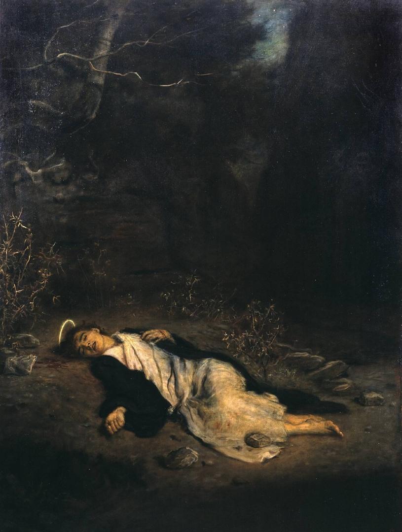 Джон Эверетт Милле. Святой Стефан. 1895