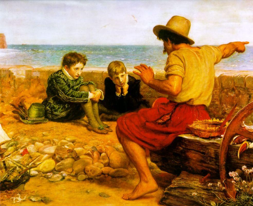 Джон Эверетт Милле. Детство сэра Уолтера Рэйли. 1870