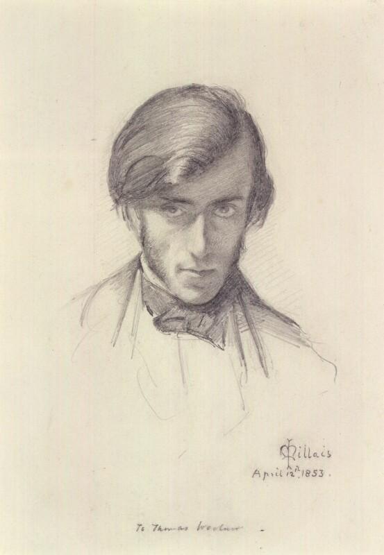 Джон Эверетт Милле. Фредерик Джордж Стивенс. 1853