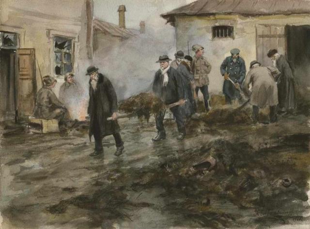 Владимиров И.А. Бывшие царские чиновники на принудительных работах. 1920